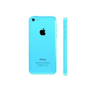 Apple iphone 5c Full Body Housing With Sim Tray Power On/Off Button Flex (Blue)