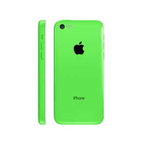 Apple iphone 5c Full Body Housing With Sim Tray Power On/Off Button Flex (Green)