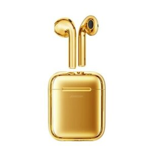 JoyRoom Wireless Air-Pods with Charging Case Gold