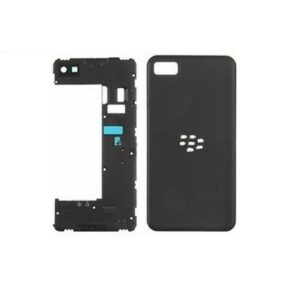 Blackberry Z10 Back Plate Housing Camera Lens Panel With Battery Door Cover (3G Version)| Blackberry SPARE PARTS on zoneofdeals.com